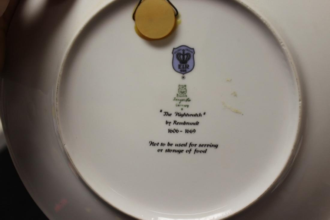 "Collector's Plate - "" The Nightwatch"" - 5"