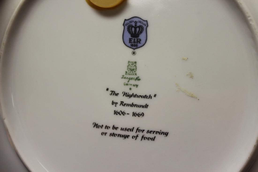 "Collector's Plate - "" The Nightwatch"" - 6"