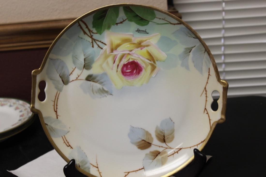 Imperial Austria 2 Handle Porcelain Plate