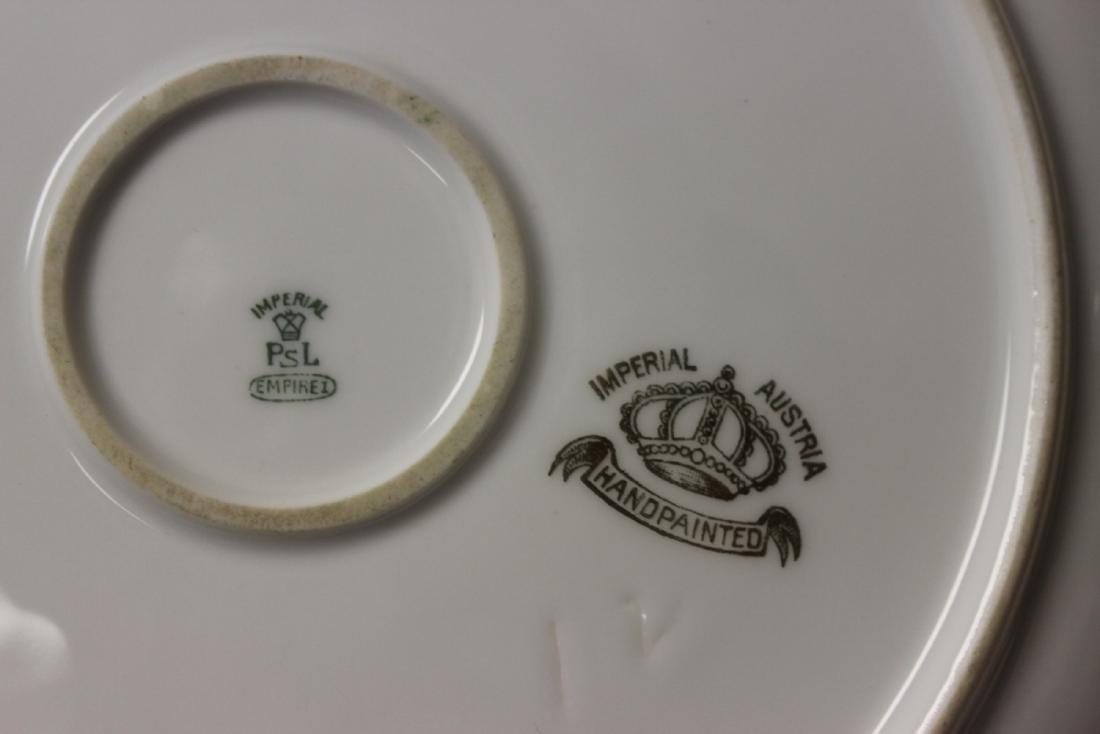 Imperial Austria 2 Handle Porcelain Plate - 2