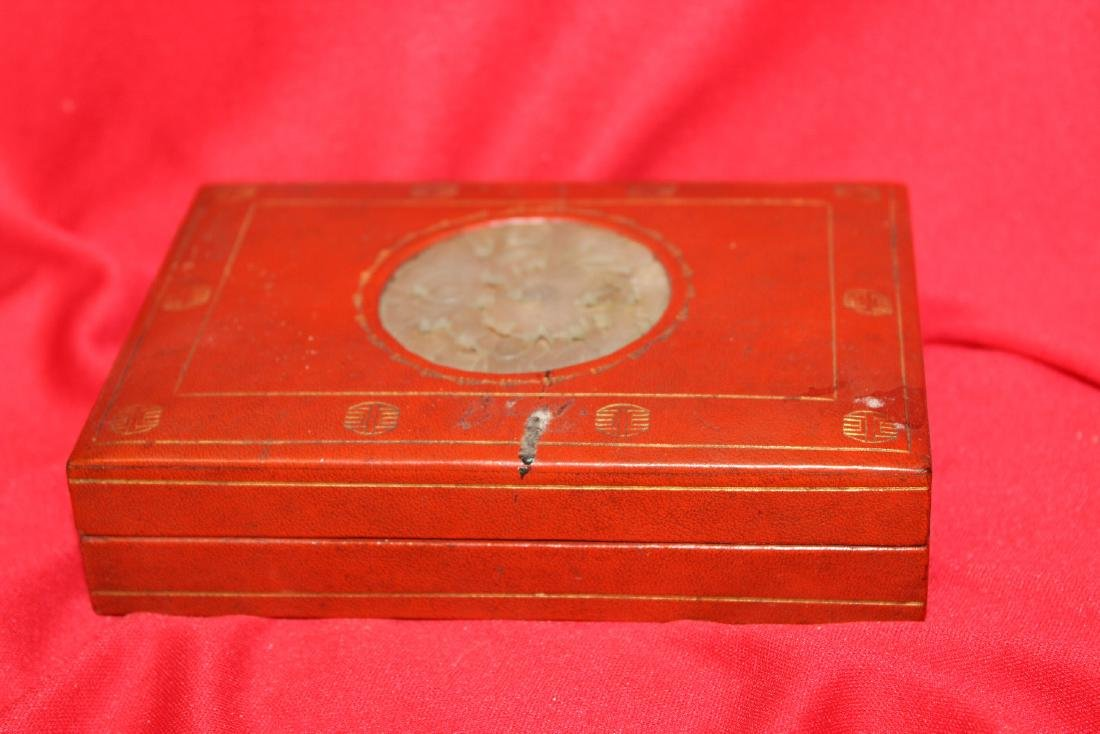 A Chinese Lacquer Box