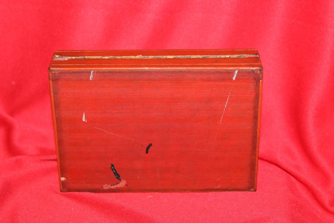 A Chinese Lacquer Box - 5