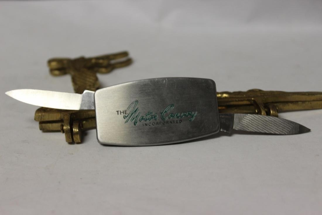 A Money Clip and Knife Combination