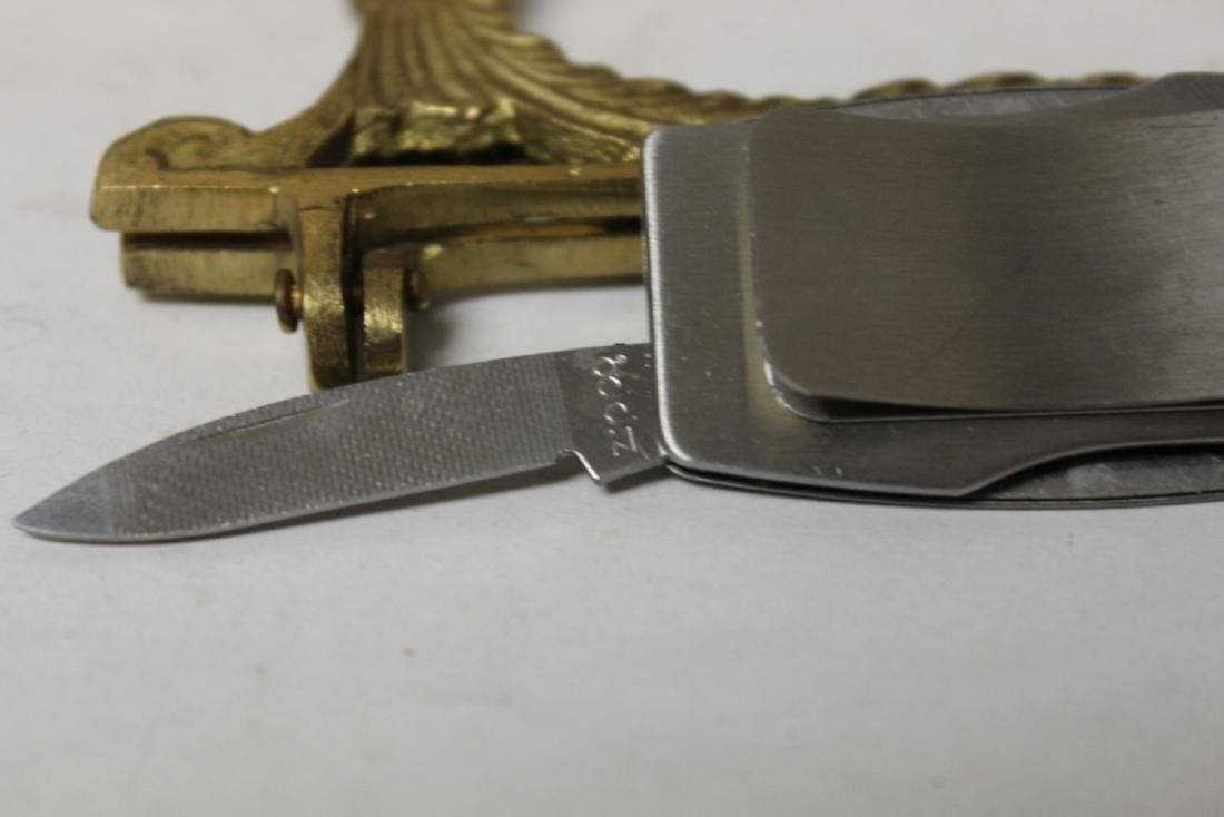 A Money Clip and Knife Combination - 6