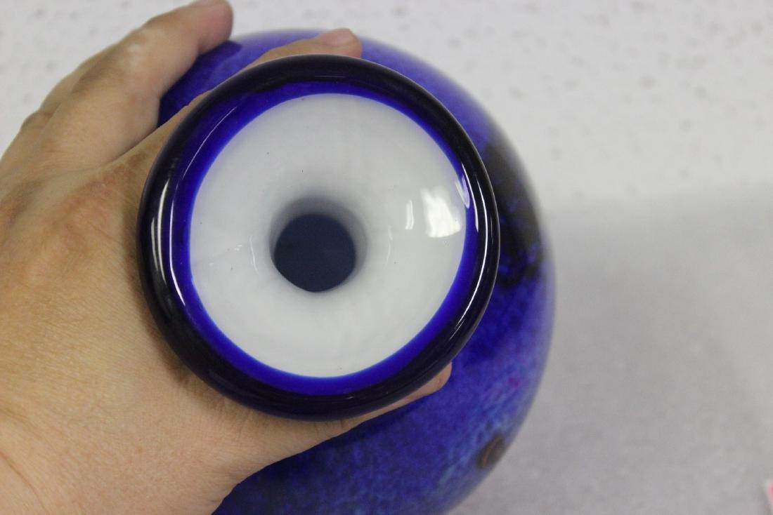 An Art Glass Vase - 6