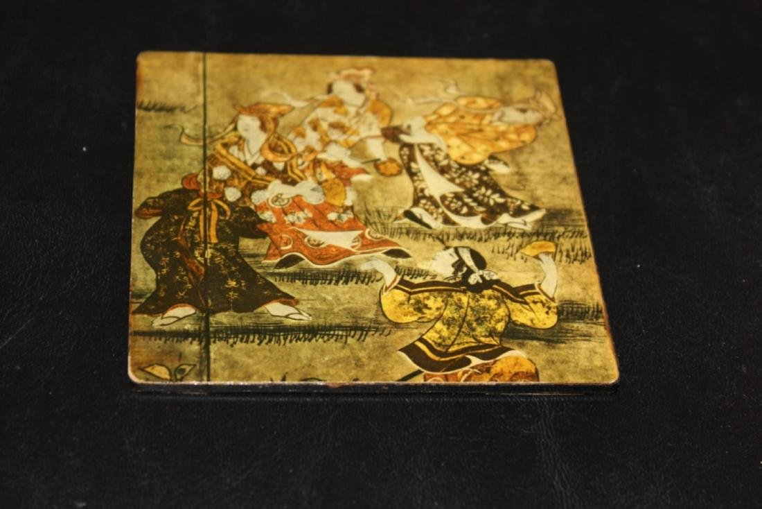 Lot of 7 Altman Coasters - Oriental Scene - 8
