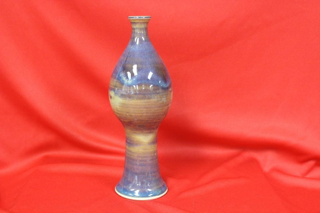 A Drip Glazed Vase