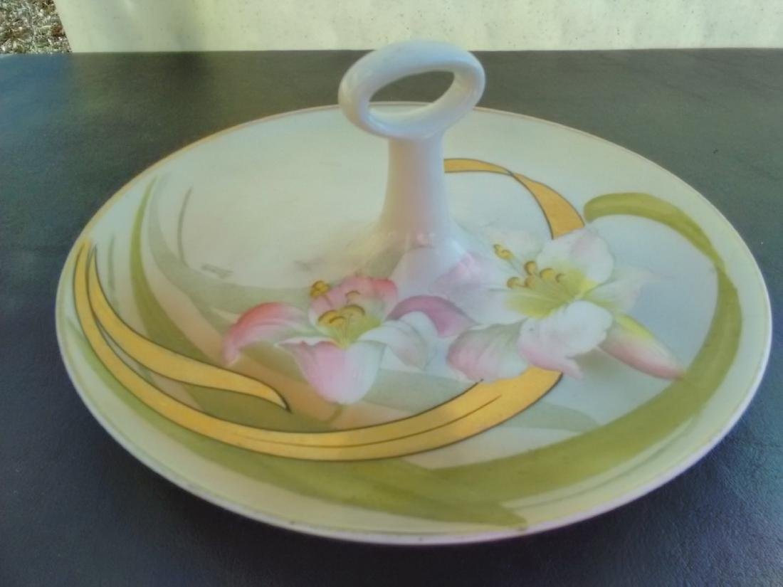 A Hand Painted Antique Bavarian Lemon Tray