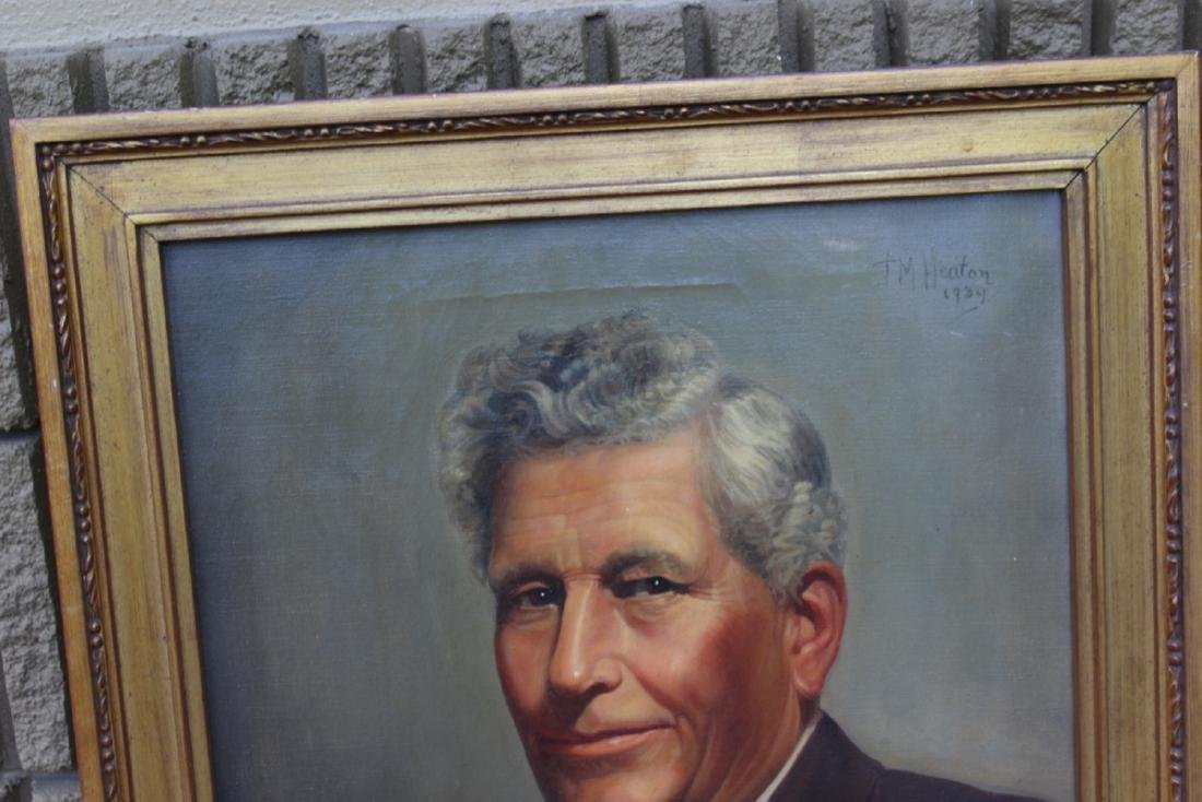 An Oil on Canvas - Dated 1939 by T.M. Heaton - 2