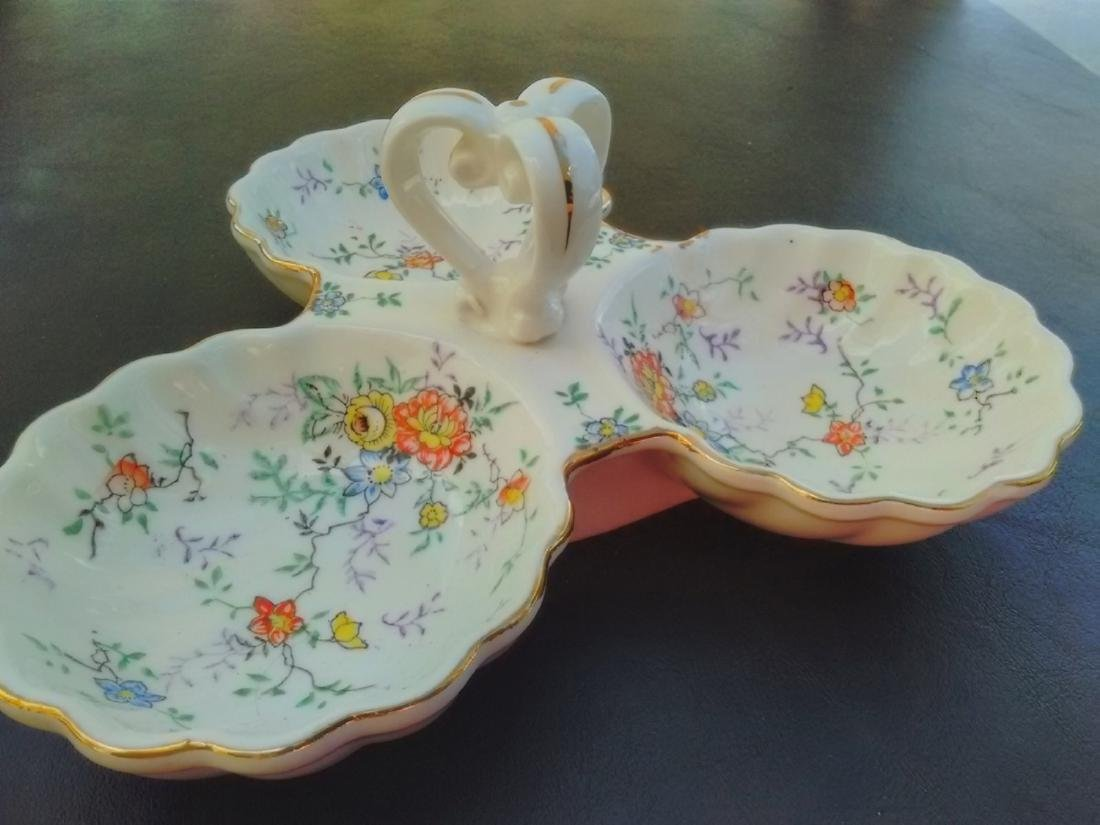 A Vintage Japanese Condiment Tray Or Platter
