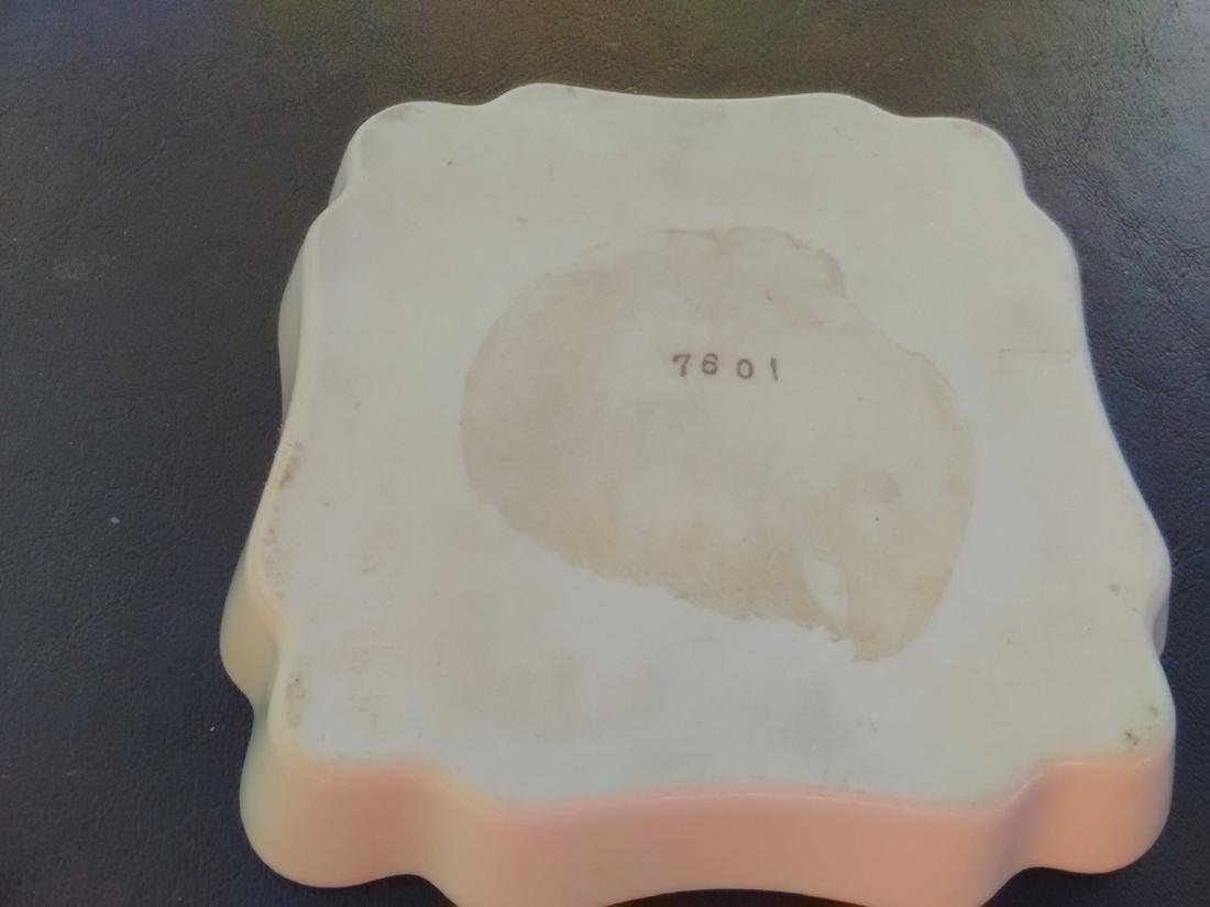 A Raised Square Tray - Embossed Decoration - 3
