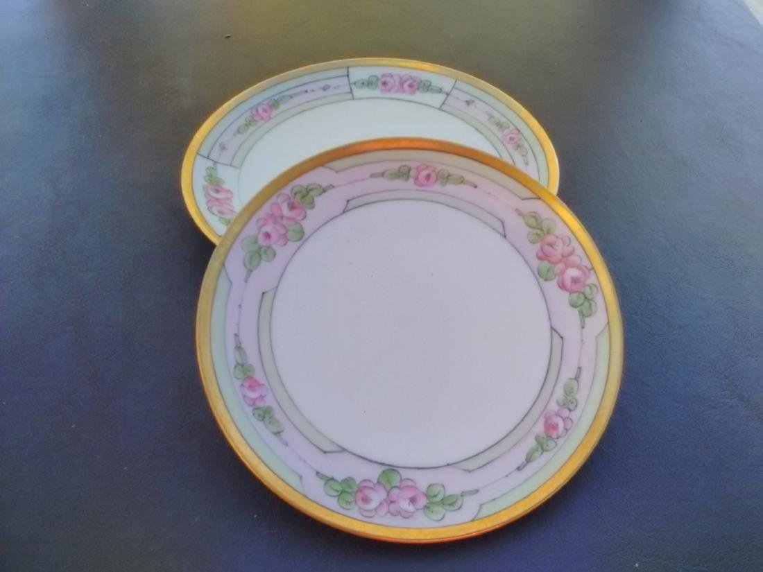 Set Of 2 Japanese Salad and Bread Plate