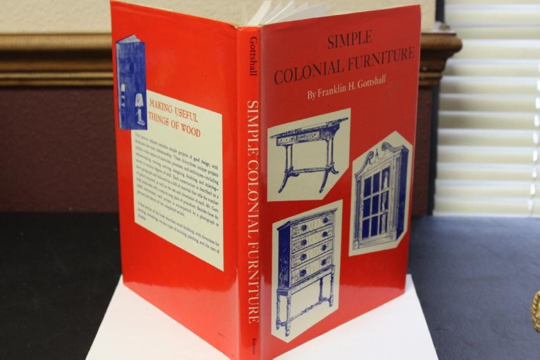 A Hardcover Book on Simple Colonial Furniture