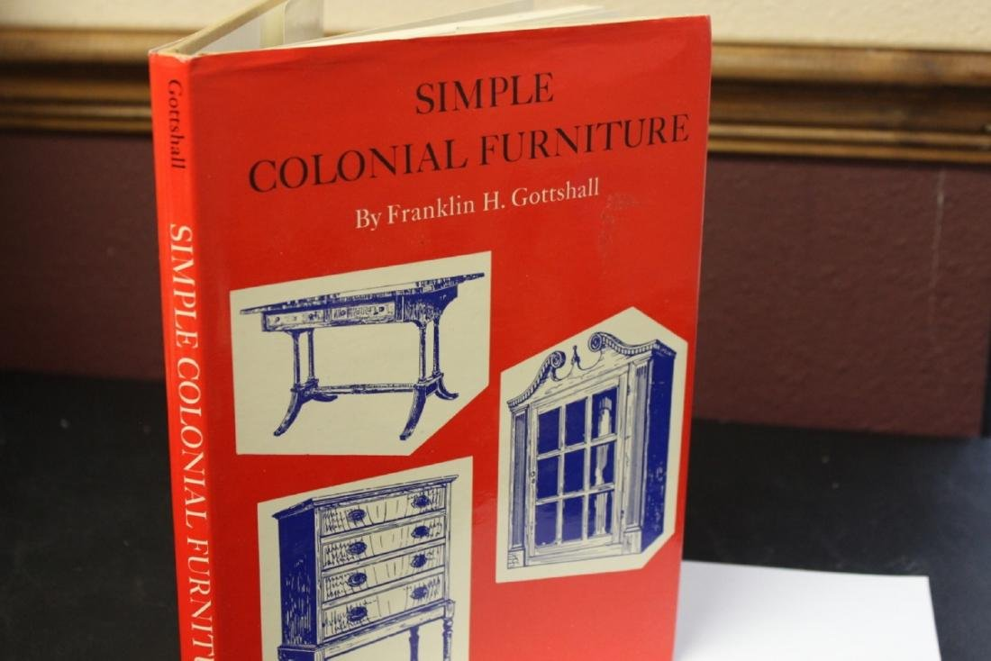 A Hardcover Book on Simple Colonial Furniture - 2