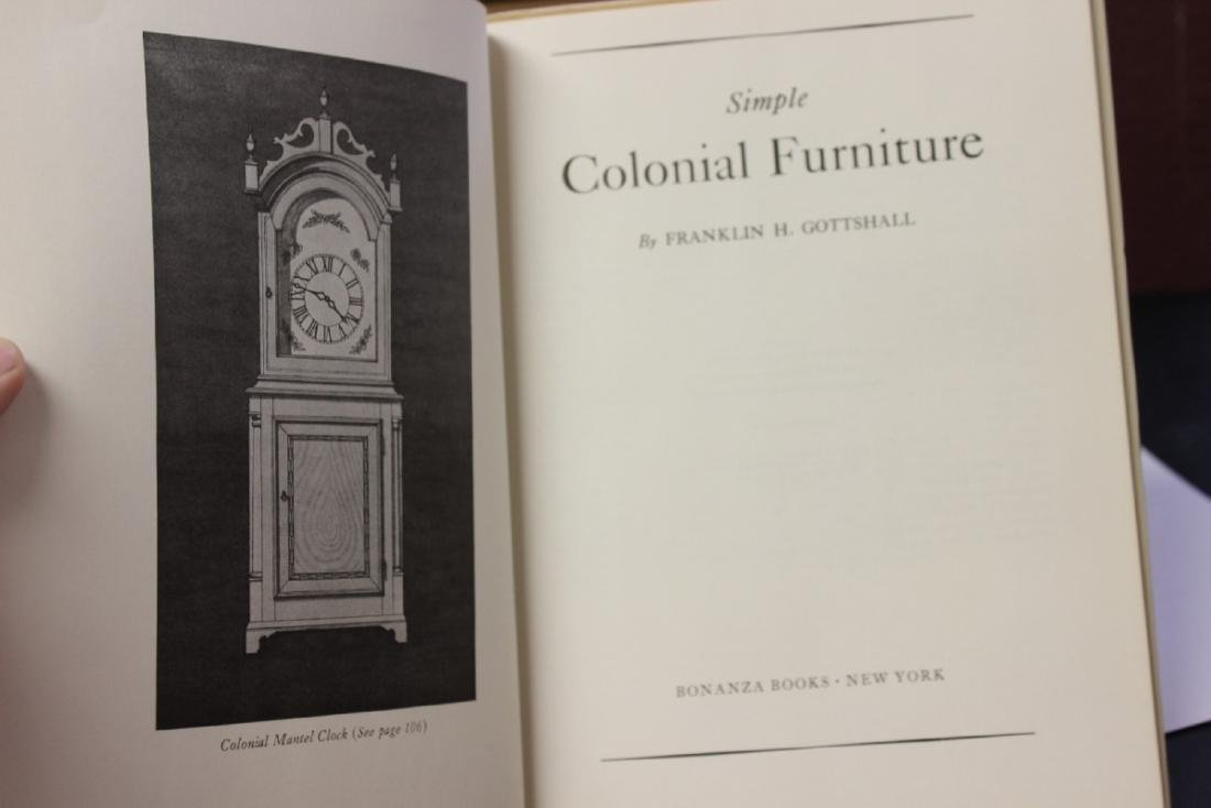 A Hardcover Book on Simple Colonial Furniture - 4