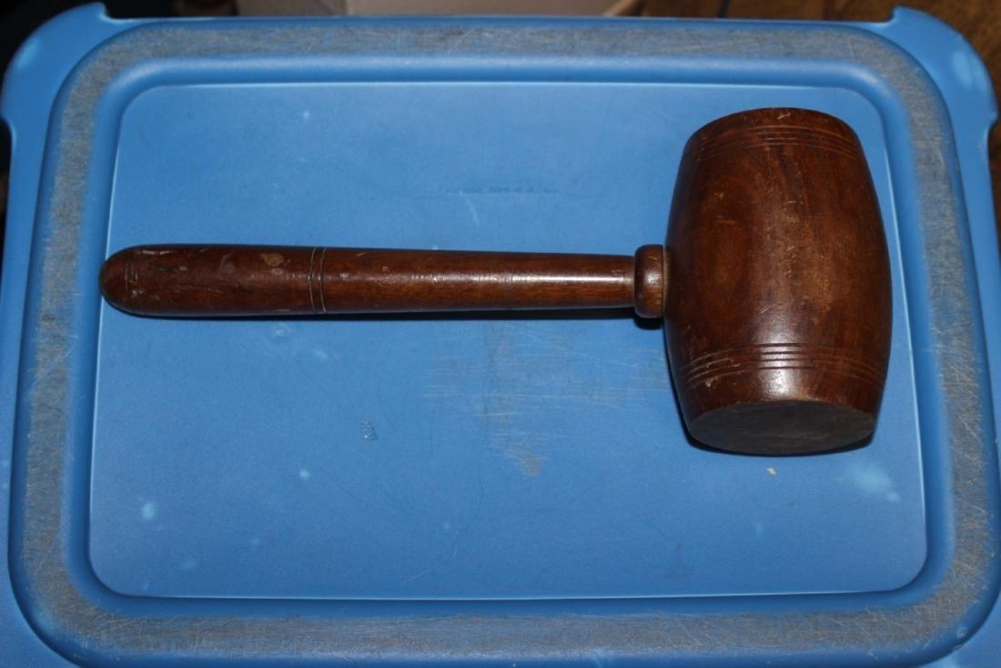 A Vintage Wooden Hammer