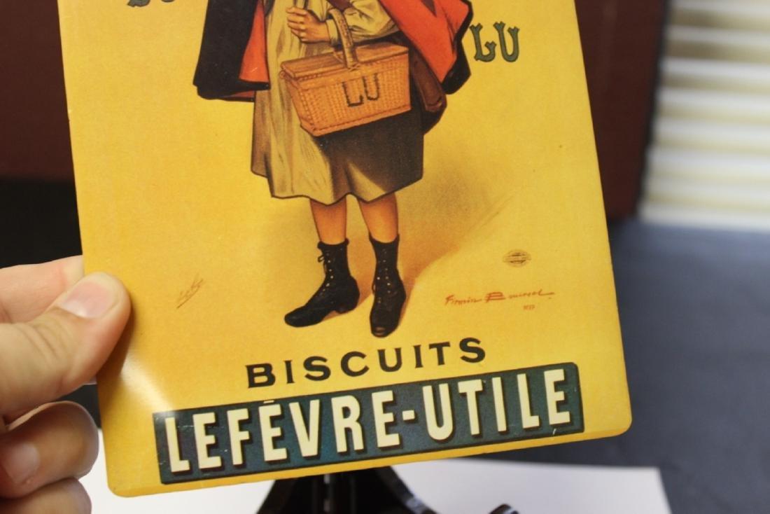 A Decorative Lefevre-Utile Buscuts Print or Advertising - 3