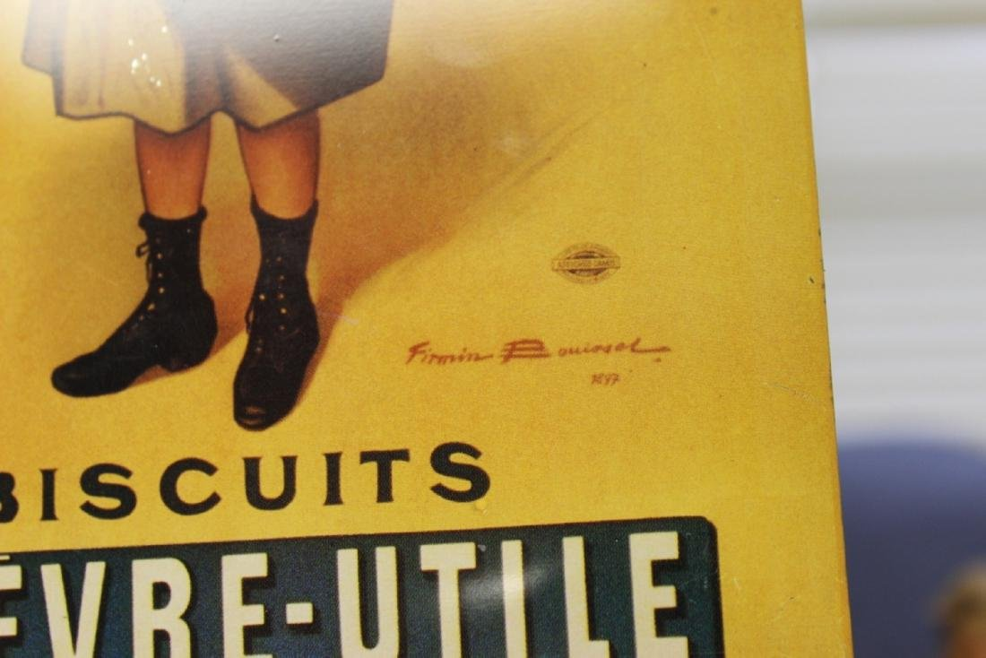 A Decorative Lefevre-Utile Buscuts Print or Advertising - 4