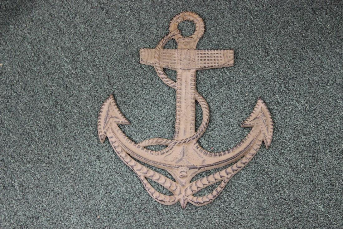 A Cast Iron Anchor