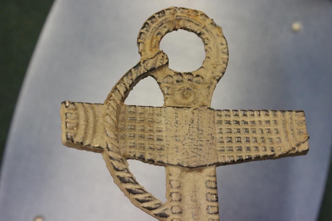 A Cast Iron Anchor - 3