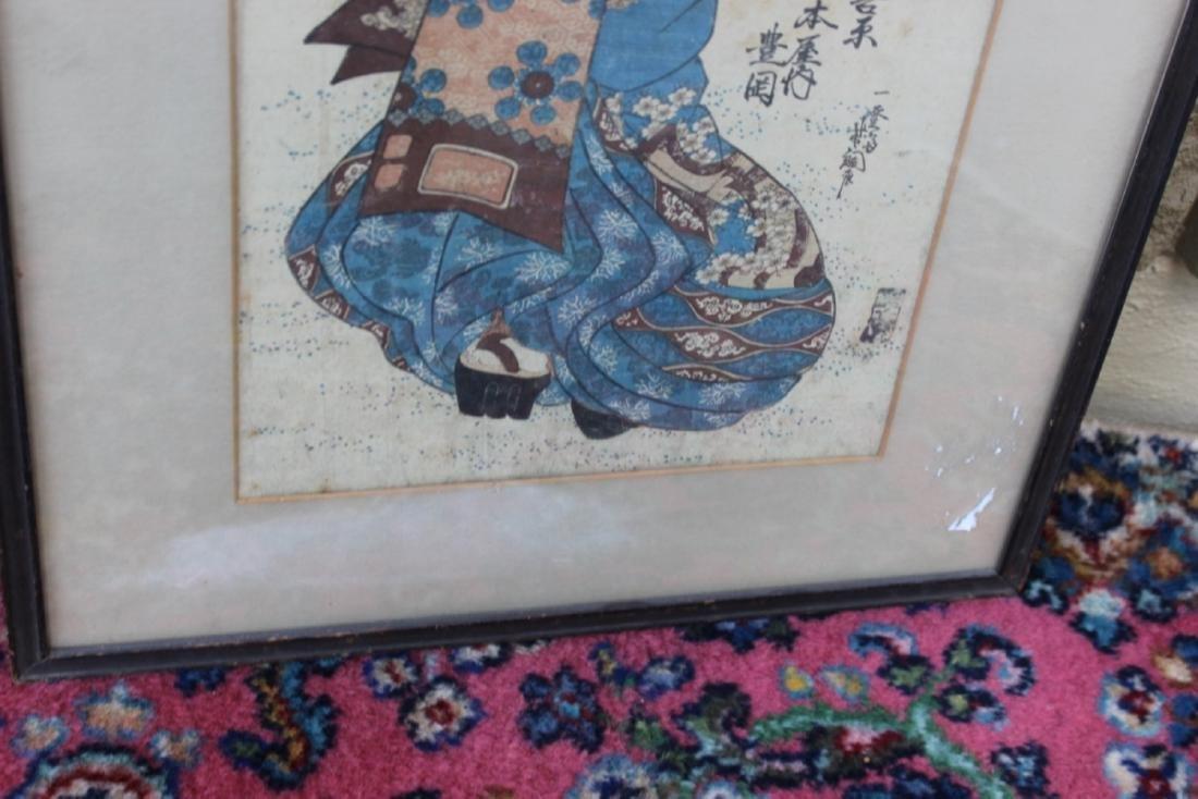 A Japanese Wood Block Print - 4