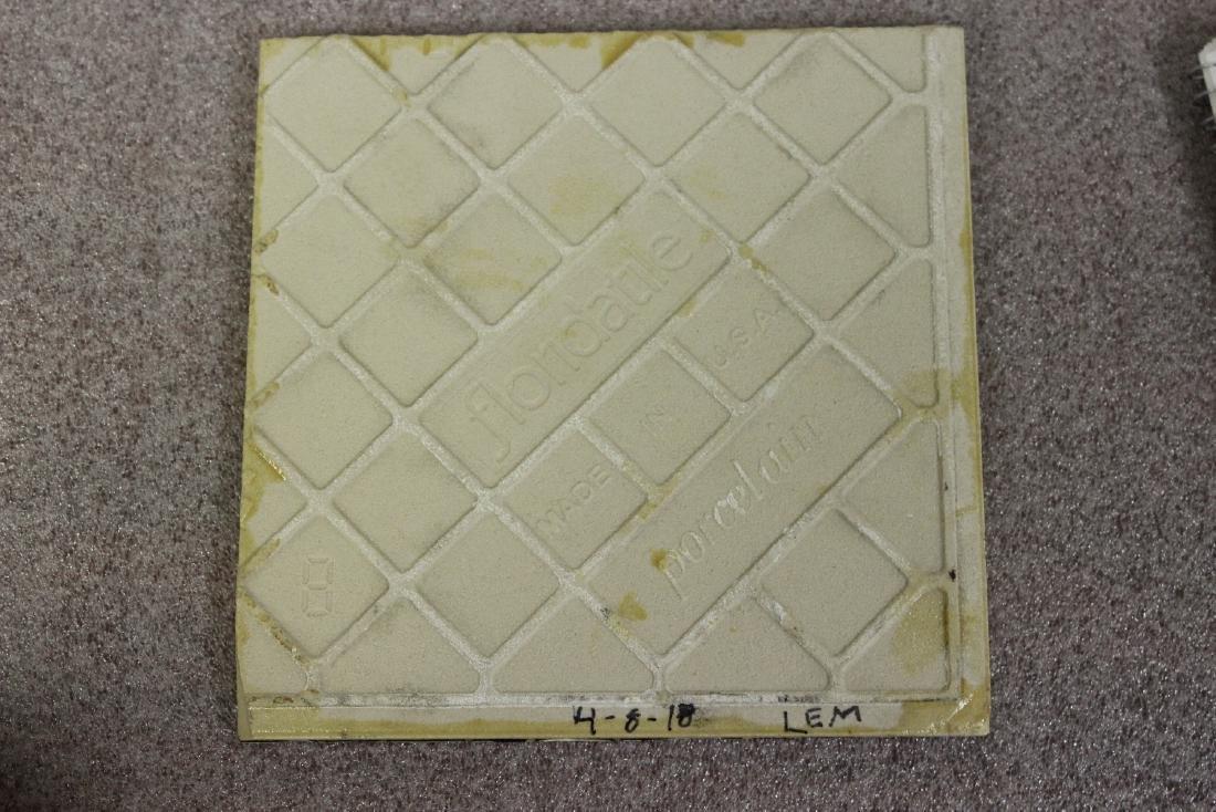 A Vintage Photograph Decorated Tile - 2