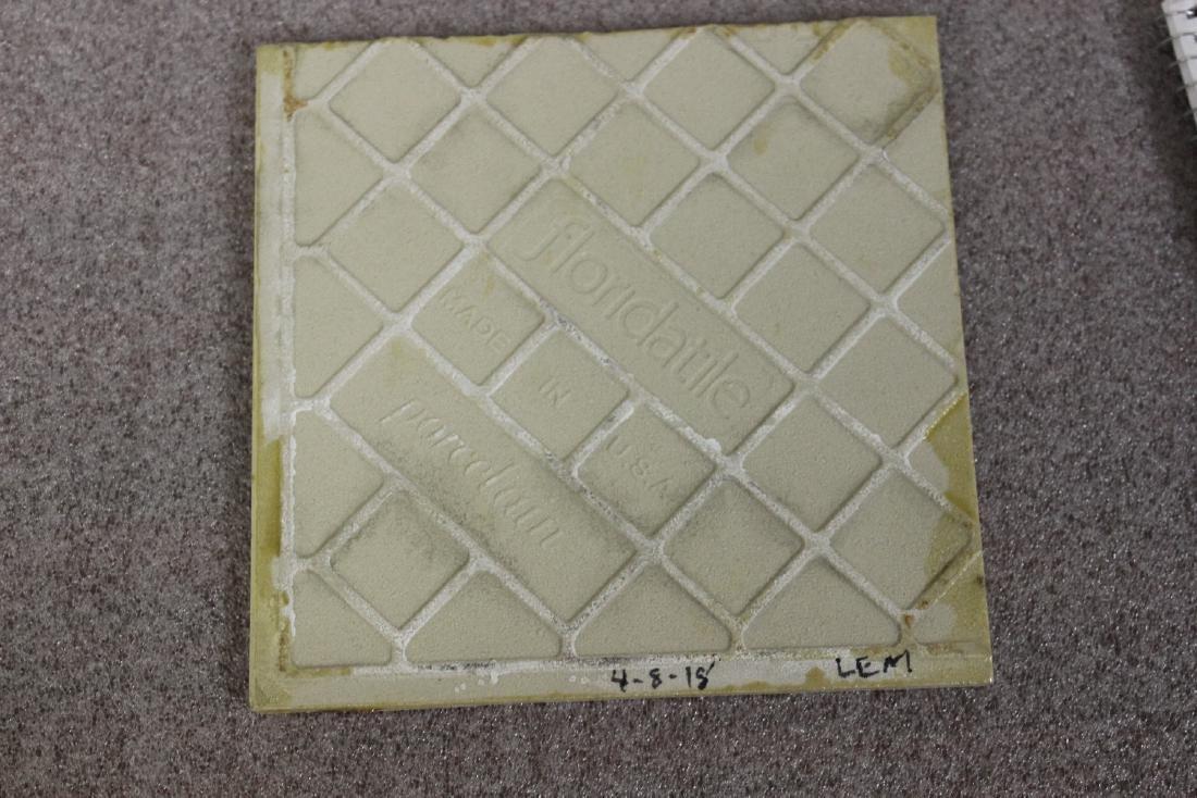 A Vintage Photograph Decorated Tile - 5