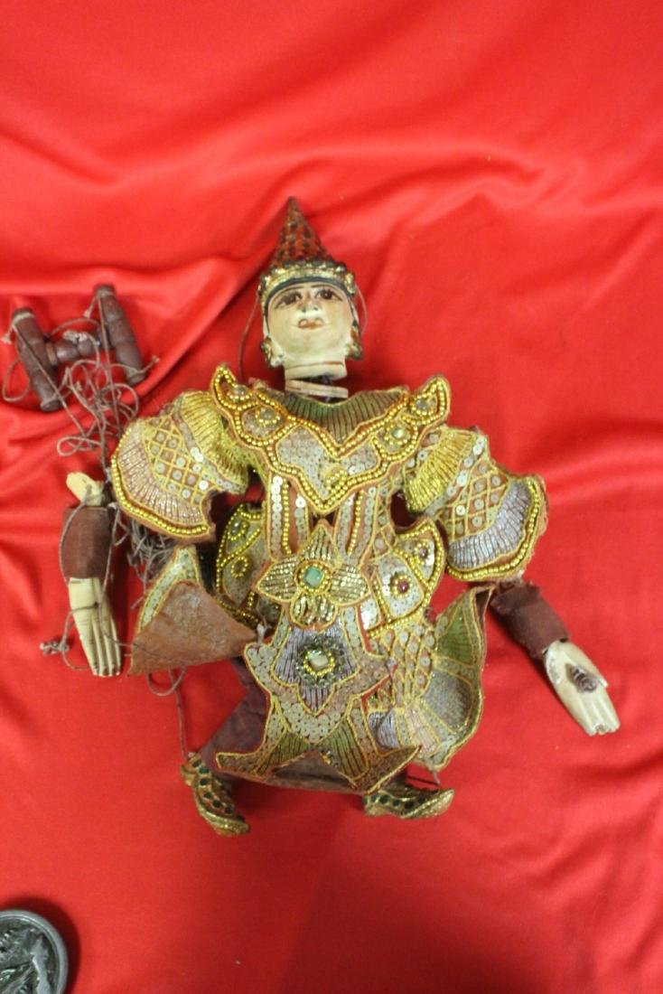 An Antique Marionette
