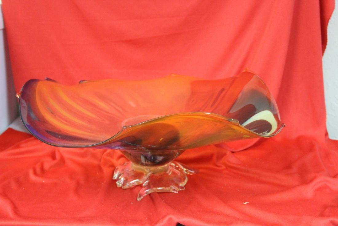 A Signed Art Glass Bowl