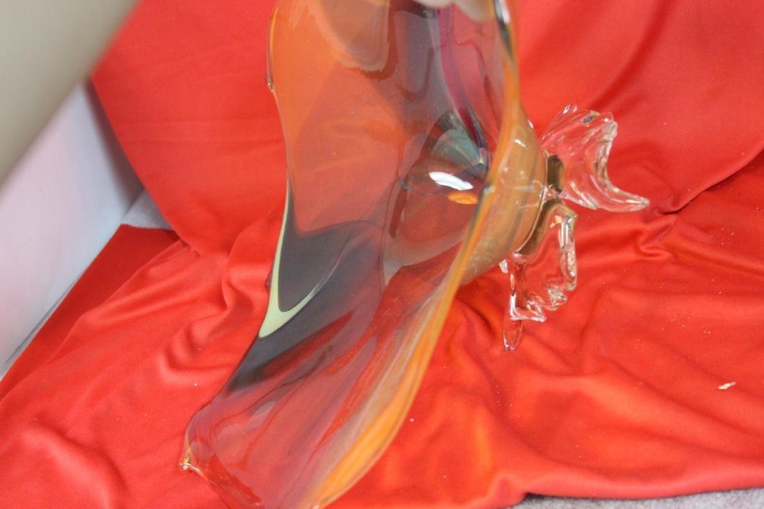 A Signed Art Glass Bowl - 4