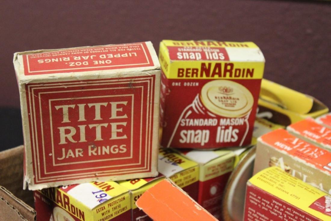 Lot Of Lids - Vintage, Kerr Lids - and Gaskets - 3