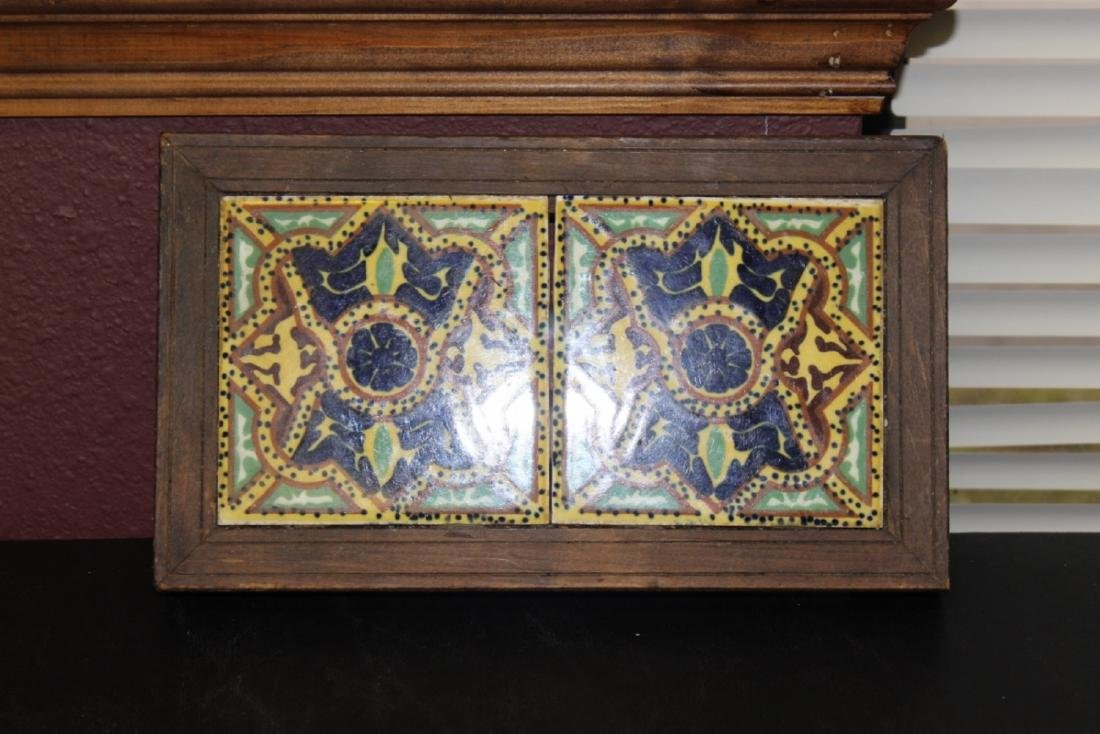 A Mexican Tile (2) - Framed
