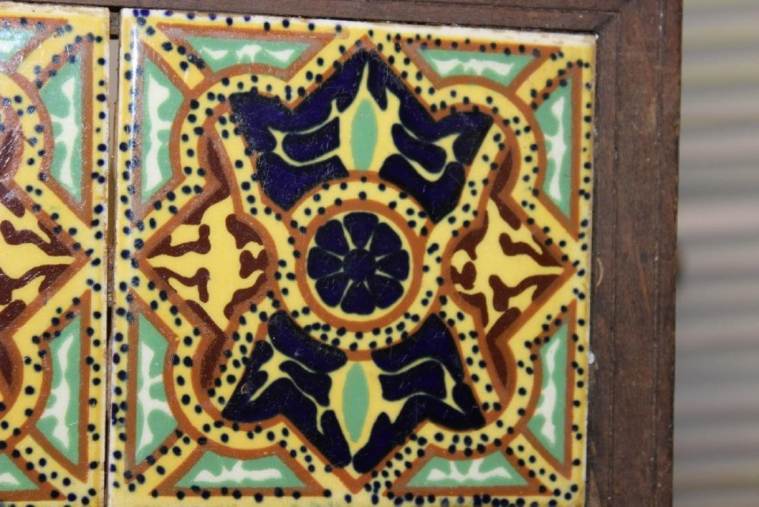 A Mexican Tile (2) - Framed - 2