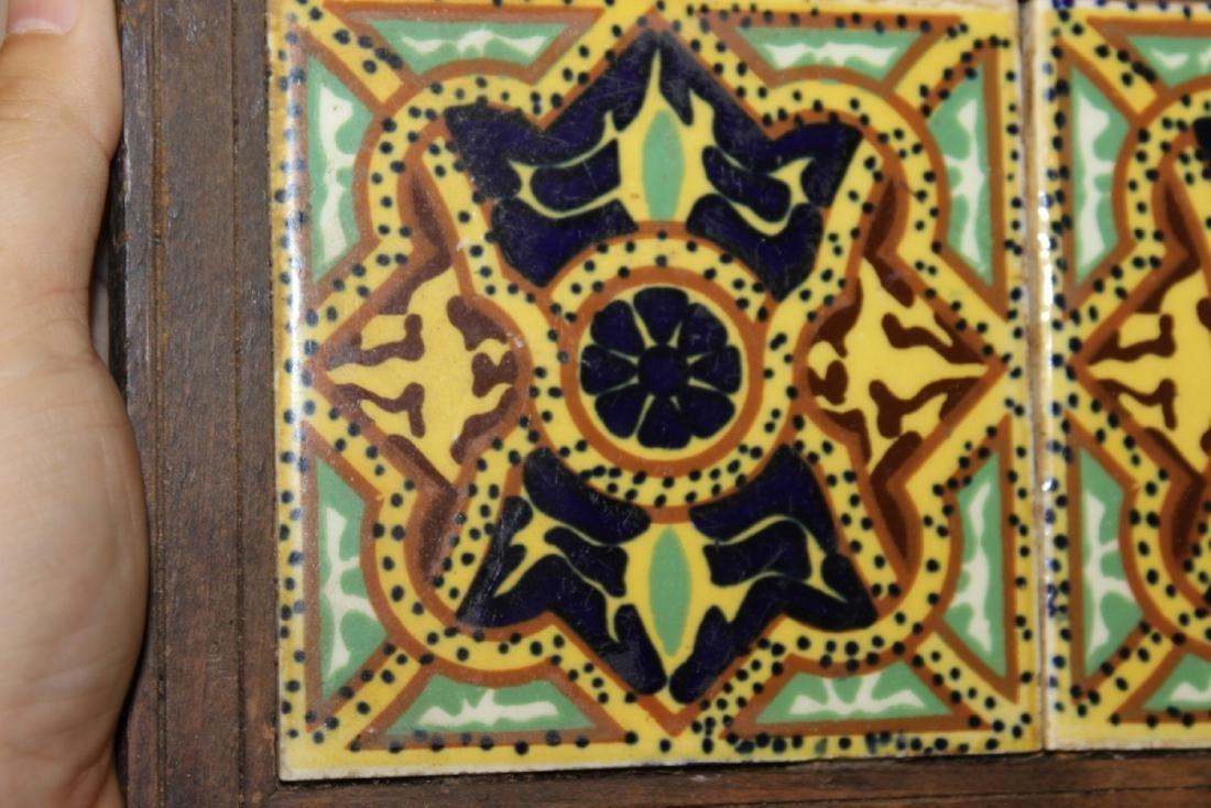 A Mexican Tile (2) - Framed - 3