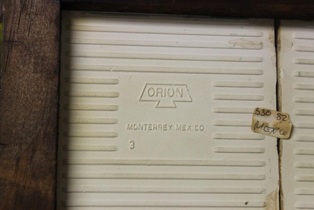A Mexican Tile (2) - Framed - 5
