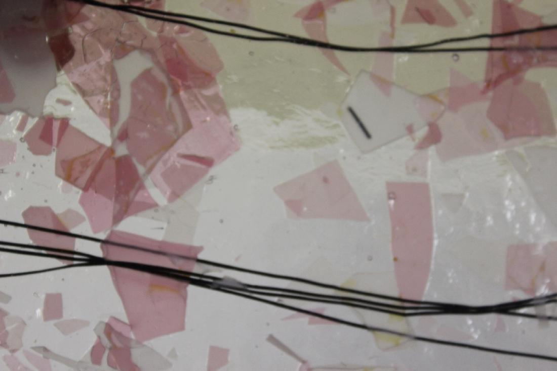 An Art Glass Tray - 3