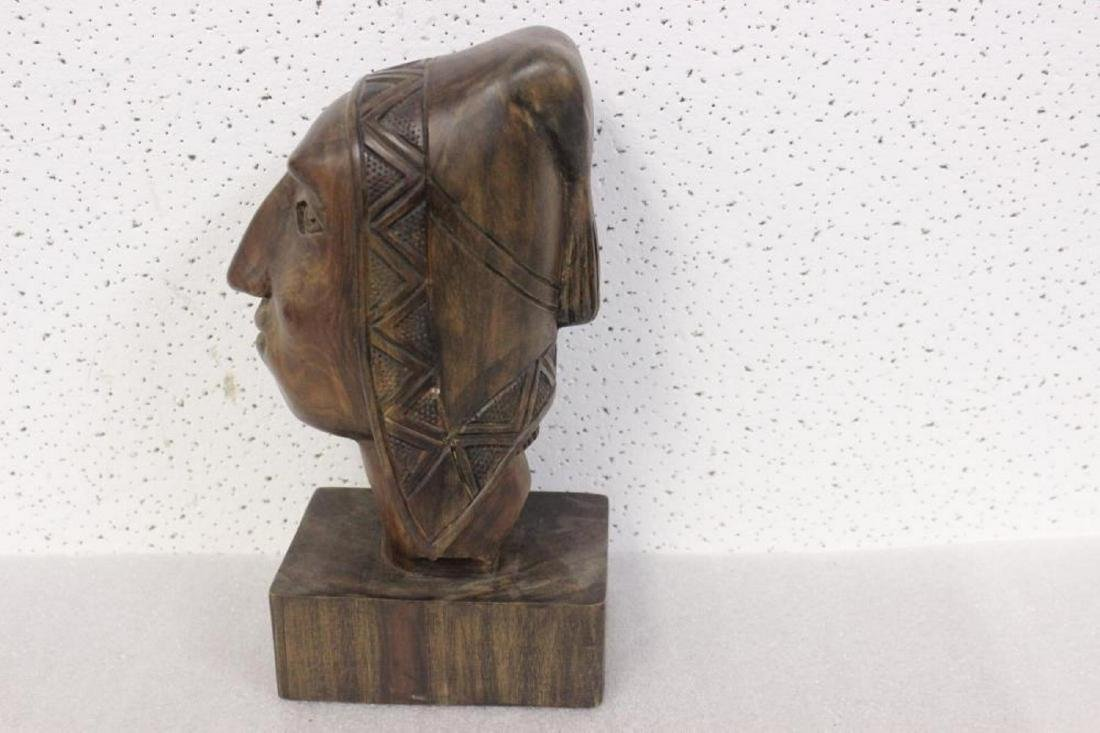 A Wooden Sculpture - 2