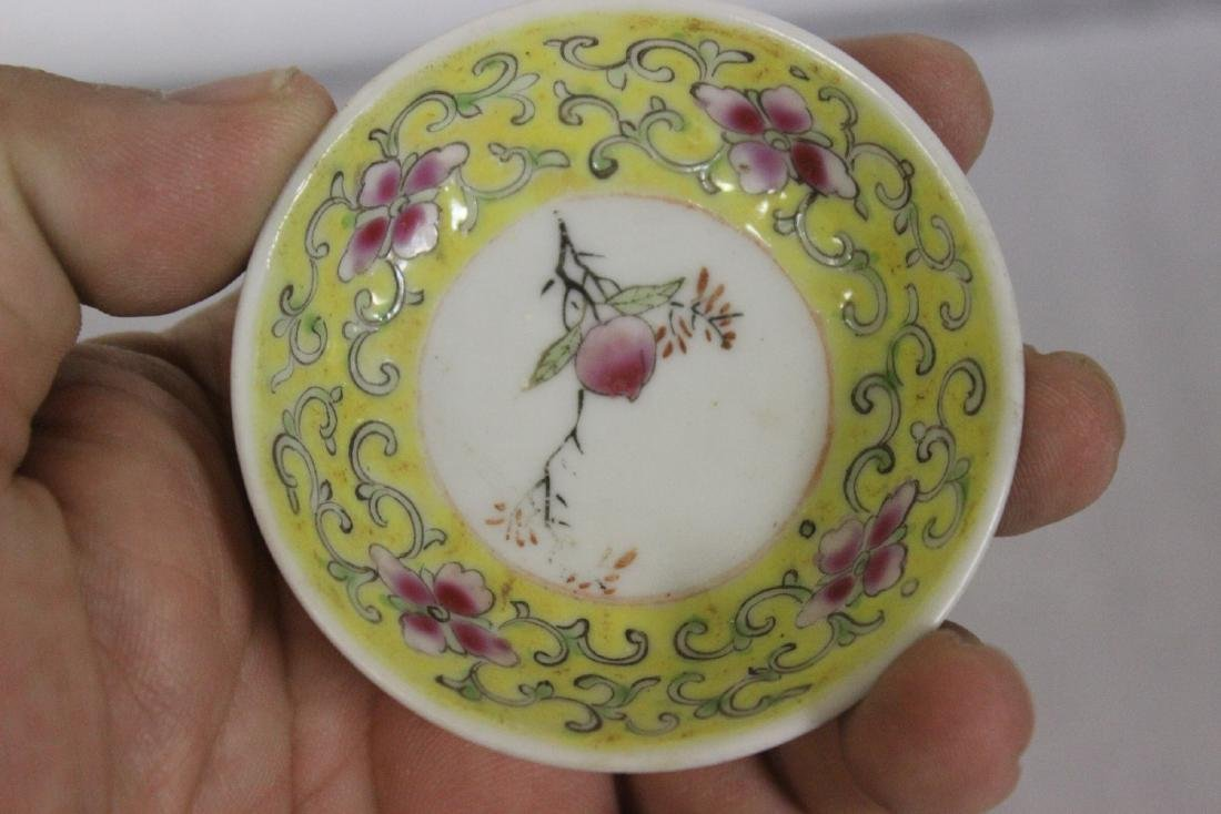 Set of 3 Vintage Chinese Sauce Dishes - 3