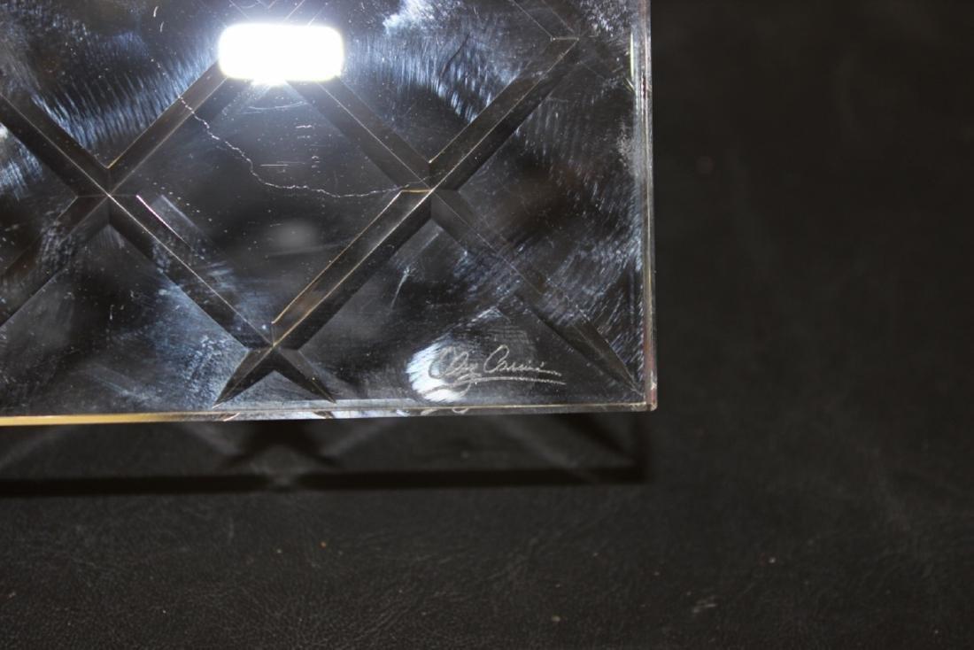 Lot of 4 Cut Glass Coasters (?) - 3