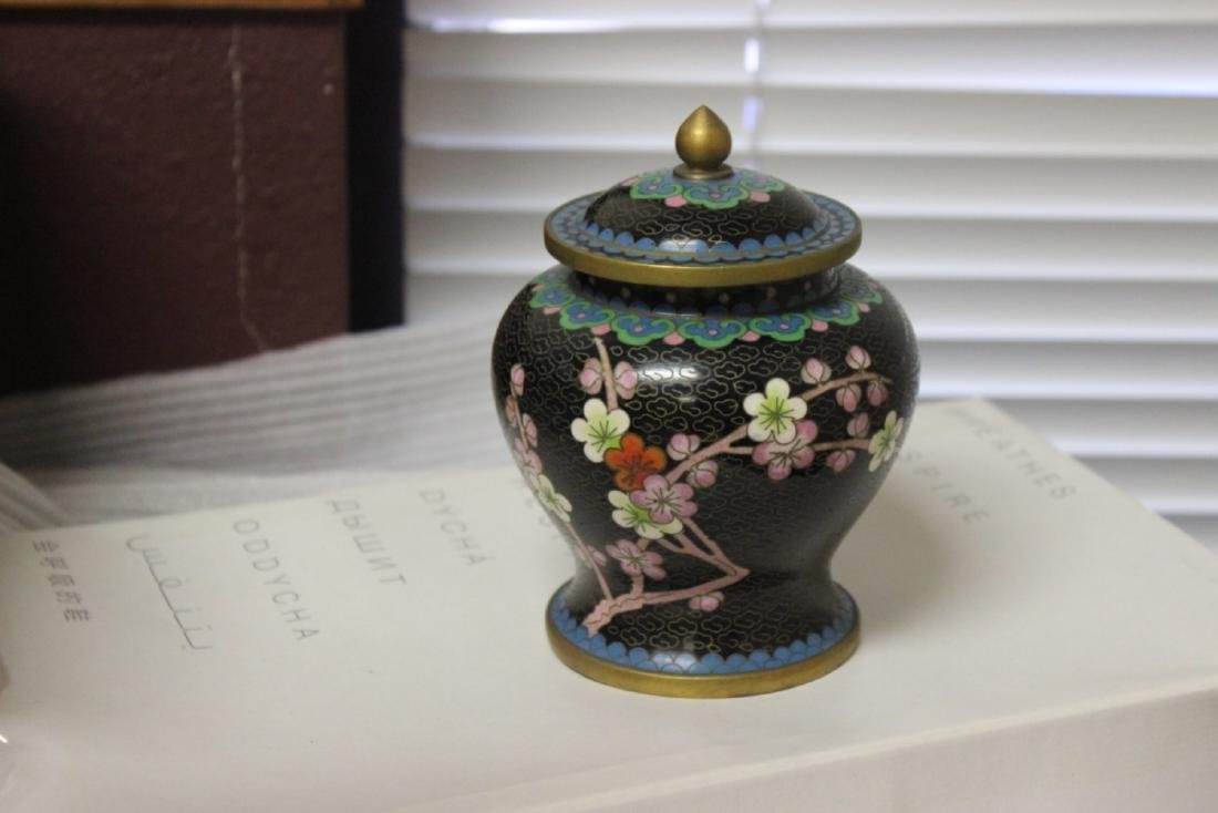 A Cloisonne Jar - Chinese - 3