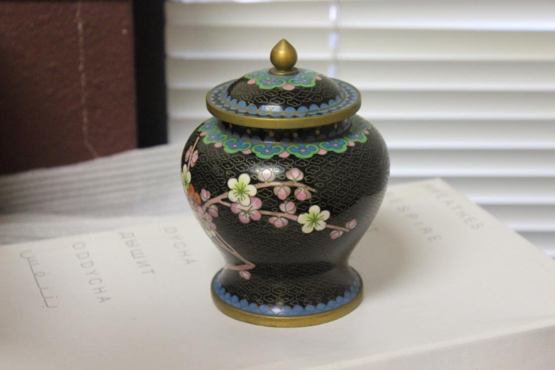 A Cloisonne Jar - Chinese - 4