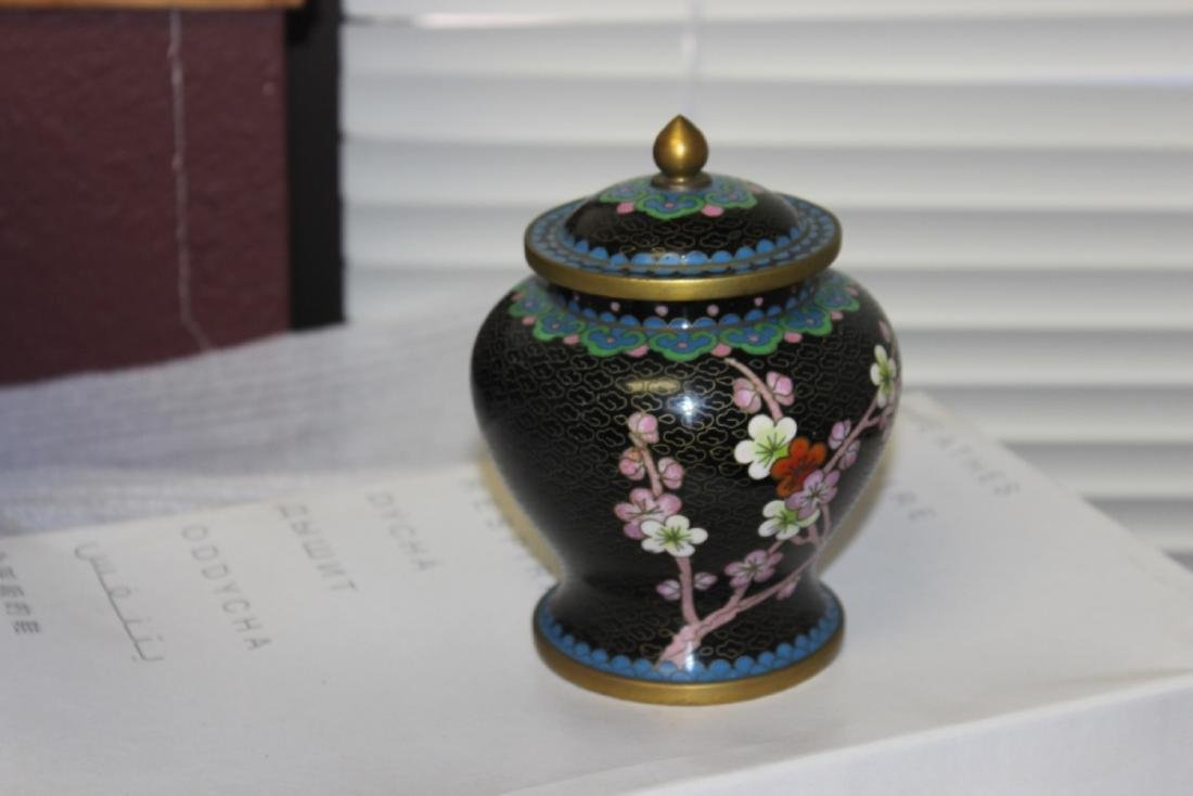 A Cloisonne Jar - Chinese - 5