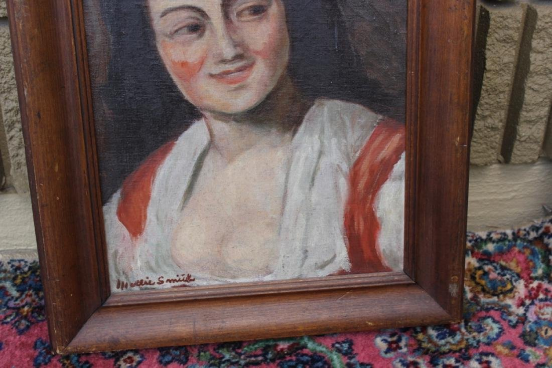 An Oil on Canvas - Signed - 4