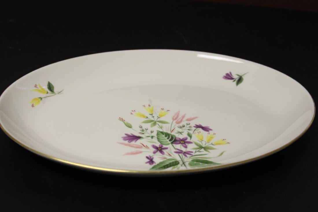 A Pickard Syncron China Oval Bowl or Plate