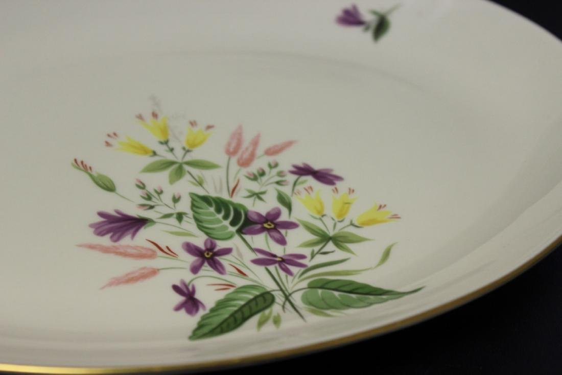 A Pickard Syncron China Oval Bowl or Plate - 2