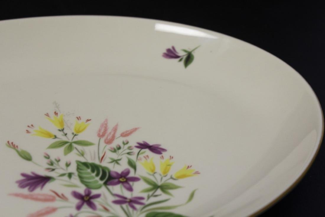 A Pickard Syncron China Oval Bowl or Plate - 3