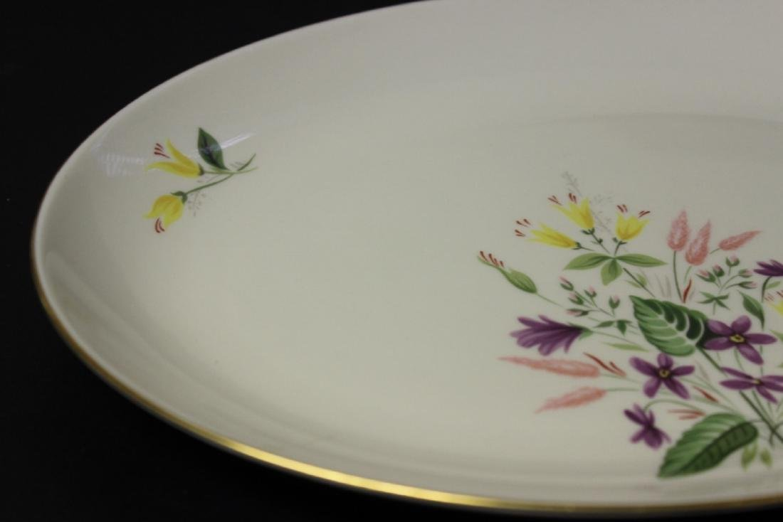 A Pickard Syncron China Oval Bowl or Plate - 4