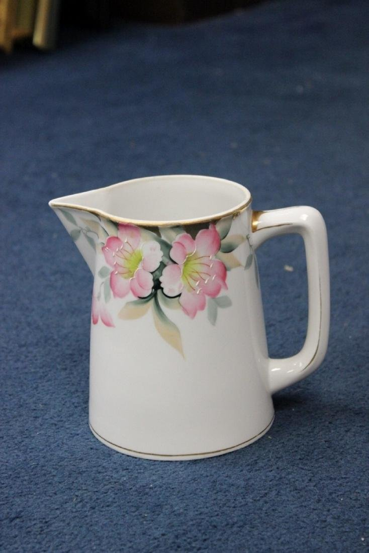 A Noritake Azalea Pattern Pitcher