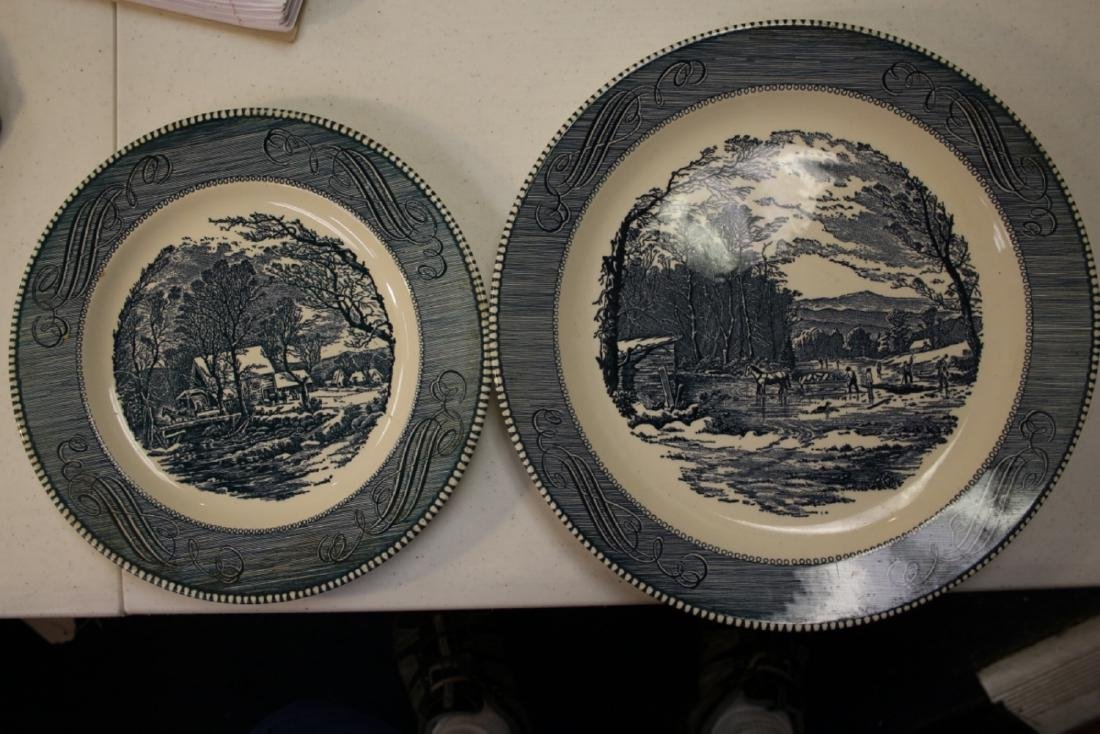 Lot of 2 Ironstone? Plate or Platter