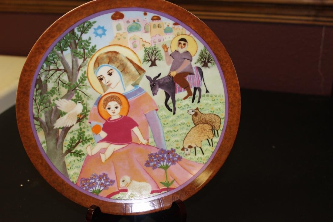 Collectors Plate by Hedi Keller - Boxed with COA